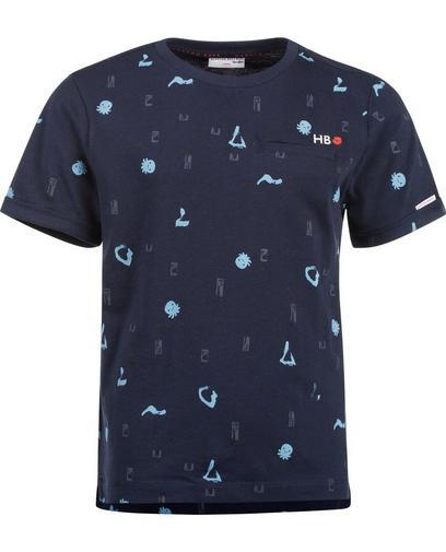 T-shirt met speelse print